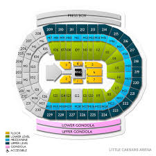 Wells Fargo Arena Seating Chart Wwe Wwe World Wrestling Entertainment In Detroit Tickets Buy