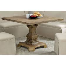 Rustic square dining table Rectangular Michalchovaneccom Rustic Square Dining Table In Antique Oak