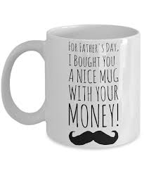 Fathers Day Morning Coffee Mug Funny Sayings Quotes Dad Gift