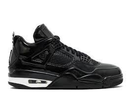 air jordan 4 retro 11lab4 black patent leather 11lab4