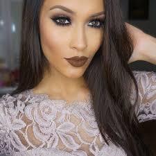 beautiful brown eye makeup design