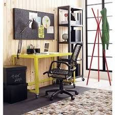 cb2 office. Rolling Desk: Go-cart Chartreuse Desk In Office Furniture | CB2 Cb2