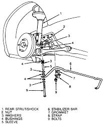 1998 ford contour rear suspension diagram