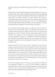 an analysis of the opening sequence of vertigo  3 geometric