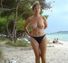 Topless voyeur outdoor milf