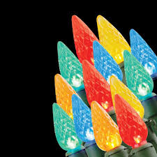 home accents holiday 20 light battery operated led multi color c3 light set