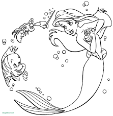Little Princess Coloring In Save Ariel Coloring Page Fresh Little