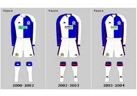 The video posted by blackburn to their youtube channel tonight to launch their new kit, which goes on sale later in the week, is unbelievable in so many ways we don't know where to start. Blackburn Rovers Home Playing Kits 2001 2021 My Football Facts