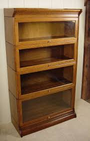 Glass Bookshelf Antique Bookshelf With Glass Doors Antique Furniture