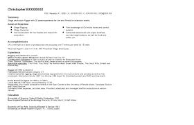 stage production rigger resume sample   resume    click here to view this resume