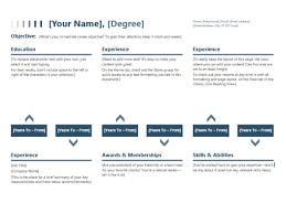 Year Timeline Template Resume Timeline