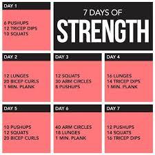 7 days of strength