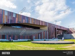 Engineering Design Center Warszawa Warsaw Poland April Image Photo Free Trial Bigstock