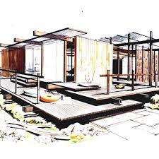 modern home architecture sketches. Modren Modern Modern Home Architecture Sketches Room Combined Homelkcom To