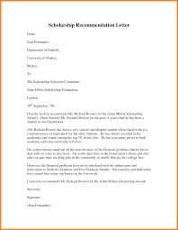 Recommendation Letter For Scholarship 24 example of scholarship recommendation letter inta cf 1