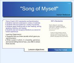 on song of myself essay on song of myself