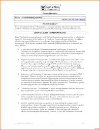Housekeeper Resume Housekeeping Job Summary Resume Therpgmovie 70