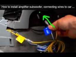 hook up radio to amp car amp hookup diagram car auto wiring diagram schematic denon how to wire a car amplifier