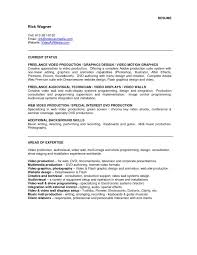 Permalink to Video Production Resume Samples