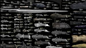 Scale Model Comparison Chart Every Sci Fi Starship Ever In One Mindblowing Comparison Chart