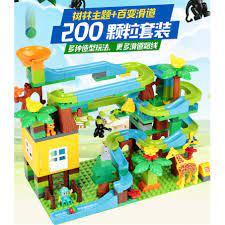 Bộ Đồ Chơi Lego Xếp Hình Bằng Cotton Cho Bé 3-6 - 8-10 Tuổi ...