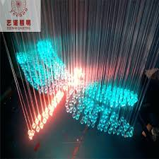 fiber optic led light engine erflies dragonflies chandelier cable strands in lights from