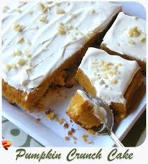 easy pumpkin mac nut crunch cake recipe such a simple dessert recipe and using