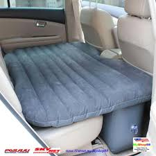 Back Seat Bed Air Bed Inflatable Mattress Car Back Seat 2 Pillows Air Pumpfull