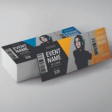 Ticket Design Event Tickets