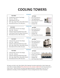 Counterflow Cooling Tower Design Cooling Tower Overview Pages 1 2 Text Version Fliphtml5