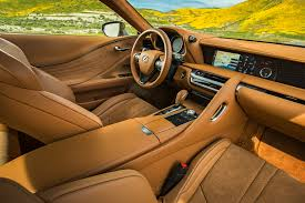 2018 lexus 2 seater. interesting lexus 2018 lexus lc 500 interior overview with lexus 2 seater 3