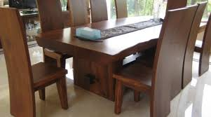 modern furniture dining room. Appealing Modern Wooden Dining Table Furniture Room