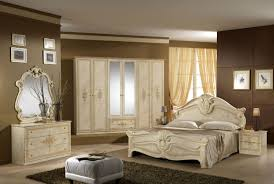 elegant white bedroom furniture. Delighful Bedroom Elegant Artistic Carved White Bedroom Furniture Set Combined With Luxury  Elite Wardrobe Cabinet In Design And Single Armless Sofa On Dark Grey Fu  Throughout H