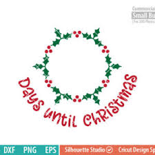 Snowflake Days until Christmas svg - FunLurn SVG