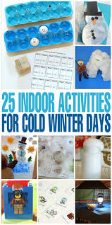 indoor activities for kids. 25 Indoor Activities For Cold Winter Days. Keep Children Busy Indoors With These Fun Kids