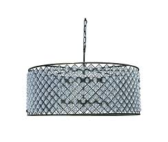 light up my home crystal chandelier table lamp with drum shade extra large light up my