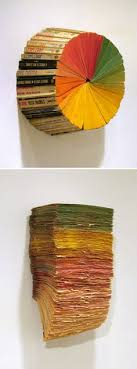 artist jonathan whitfill s repurposed book art for other bookish things check the unconsumption archive here