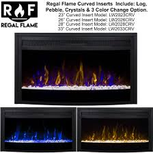 fireplaces 26 inch curved ventless heater electric fireplace insert curbedinserts3