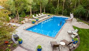 pool shown surrounded by trees image by istockphoto
