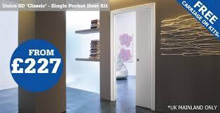 single eclisse classic pocket door kit