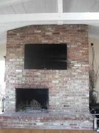 we are looking for any ideas on how to resurface the brick tv wall mount on