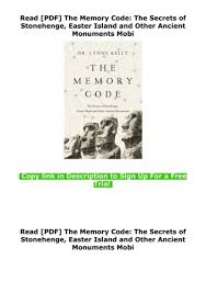 As tourism became a more common part of the easter island society since the 1990's and people travel from all over the world to. Read Pdf The Memory Code The Secrets Of Stonehenge Easter Island And Other Ancient Monuments Mobi