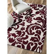 baby nursery pleasing red white rug full image for design your home black and grey