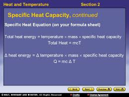 4 heat and temperaturesection