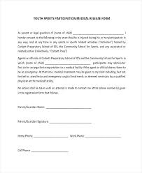 Media Waiver Release Form Sample For Parents – Kensee.co