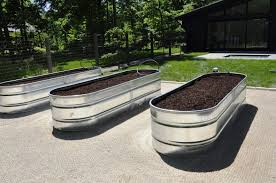 galvanized m corrugated metal planters