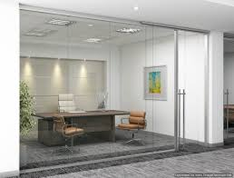 glass office wall. frameless glass demountable wall system by dynamic hive offers a new clean and open feel office