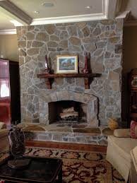 natural stone veneer fieldstone with grout charlotte nc general interior fireplace
