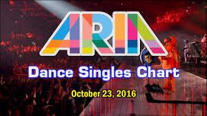 Top Ten Aria Charts Top 20 Australian Dance Songs October 23 2016 Aria Charts