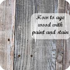 Paint Wash On Wood How To Age Wood With Paint And Stain Simply Swider